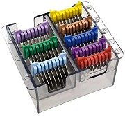 Moser AnimalLine Stainless Steel Combs
